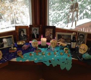 Yol Swan's altar for the Day of the Death