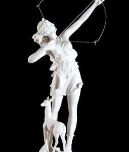 Goddess Artemis, the Indigo Archetype according to author Yol Swan
