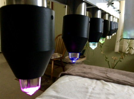 crystal bed therapy - asheville - for physical & spiritual healing